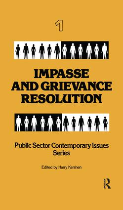 Impasse and Grievance Resolution book cover