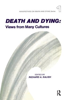 Death and Dying: Views from Many Cultures book cover