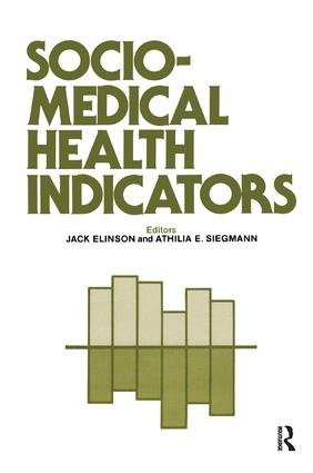 Sociomedical Health Indicators book cover