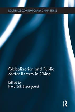 Globalization and Public Sector Reform in China book cover