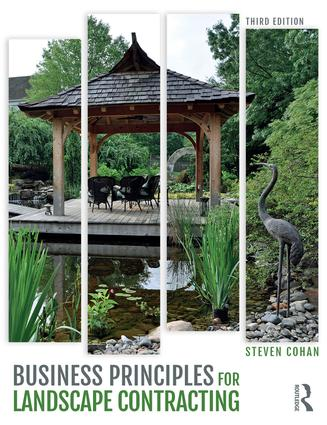 Business Principles for Landscape Contracting book cover