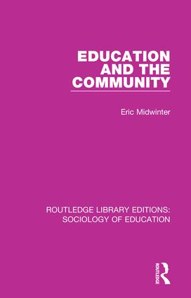 Education and the Community book cover