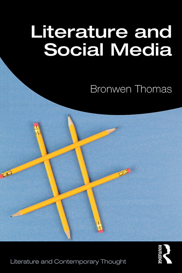 Literature and Social Media: 1st Edition (Paperback) book cover