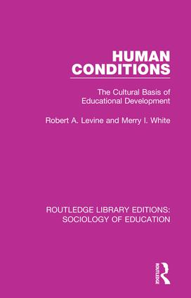 Human Conditions: The Cultural Basis of Educational Developments book cover