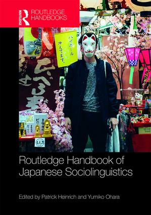 Routledge Handbook of Japanese Sociolinguistics book cover