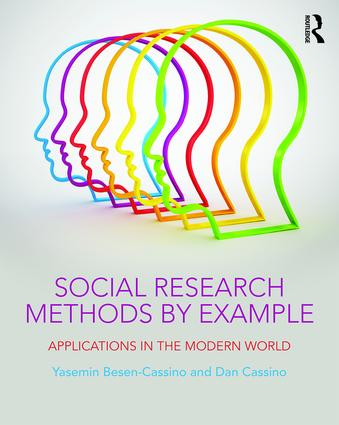 Social Research Methods by Example: Applications in the Modern World, 1st Edition (Paperback) book cover