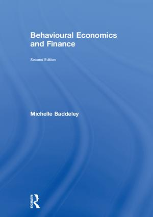 Behavioural Economics and Finance: 2nd Edition (Hardback) book cover
