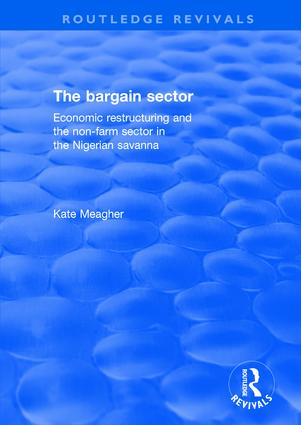 The Bargain Sector: 1st Edition (Hardback) book cover