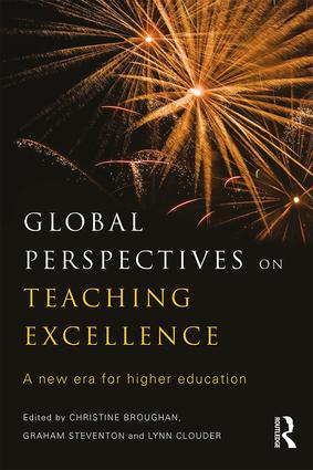 Global Perspectives on Teaching Excellence: A new era for higher education, 1st Edition (Paperback) book cover