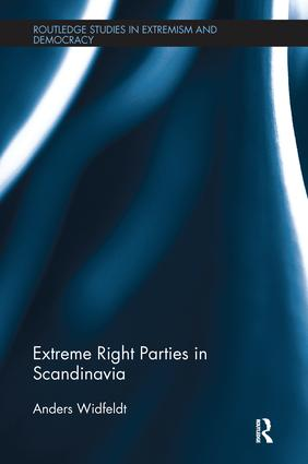 Extreme Right Parties in Scandinavia book cover