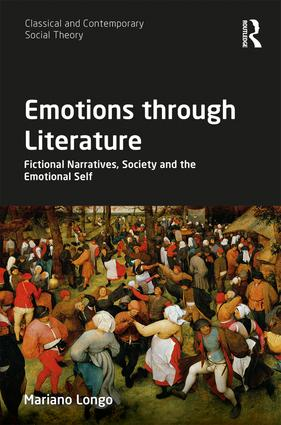 Emotions through Literature: Fictional Narratives, Society and the Emotional Self book cover