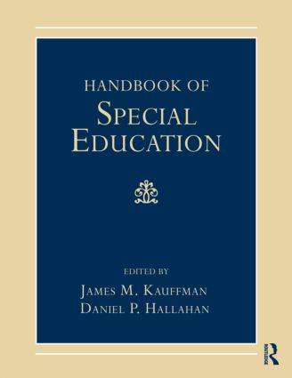 Handbook of Special Education (Paperback) book cover