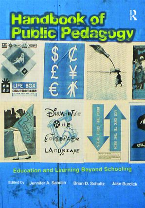 Handbook of Public Pedagogy: Education and Learning Beyond Schooling (Paperback) book cover