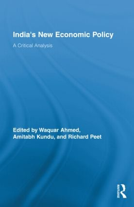 India's New Economic Policy: A Critical Analysis (Hardback) book cover