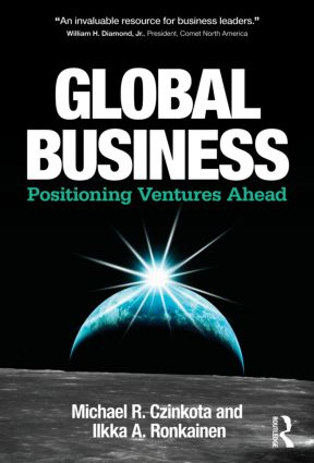 Global Business: Positioning Ventures Ahead (Hardback) book cover