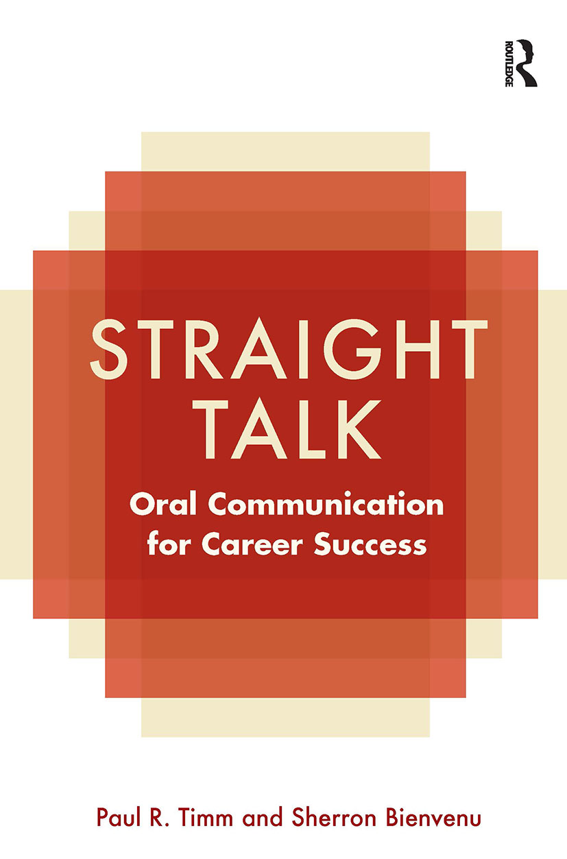 Straight Talk: Oral Communication for Career Success (Paperback) book cover