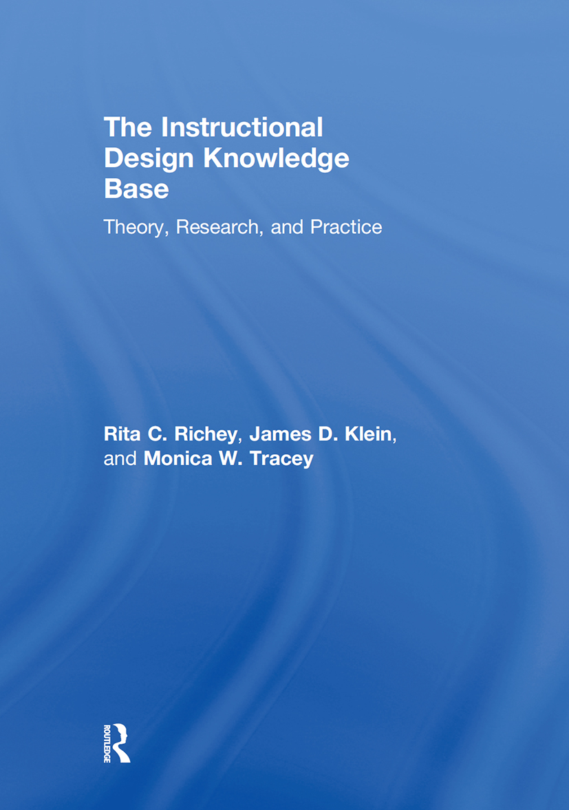 The Instructional Design Knowledge Base: Theory, Research, and Practice, 1st Edition (Hardback) book cover