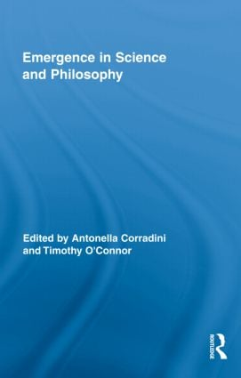 Emergence in Science and Philosophy: 1st Edition (Hardback) book cover