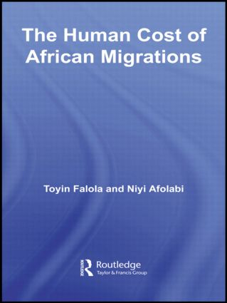 The Human Cost of African Migrations (Paperback) book cover