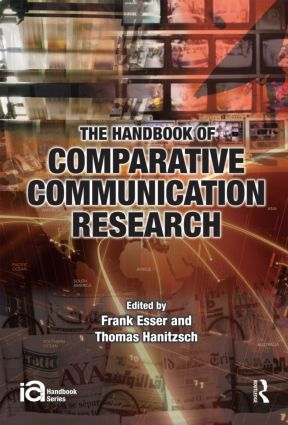 The Handbook of Comparative Communication Research: 1st Edition (Hardback) book cover