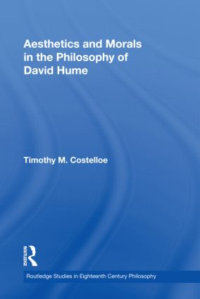 Aesthetics and Morals in the Philosophy of David Hume: 1st Edition (Paperback) book cover