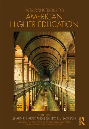 Introduction to American Higher Education (Paperback) book cover