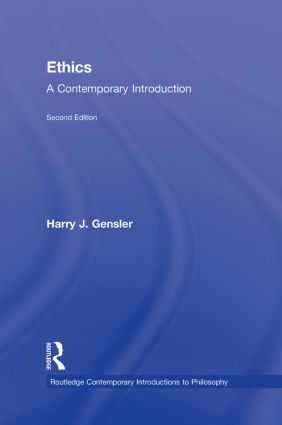 Ethics: A Contemporary Introduction, 2nd Edition (Hardback) book cover