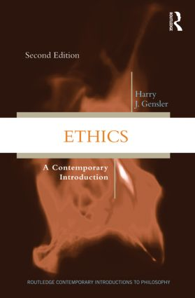 Ethics: A Contemporary Introduction, 2nd Edition (Paperback) book cover