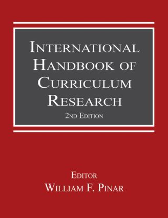 International Handbook of Curriculum Research: 2nd Edition (Paperback) book cover