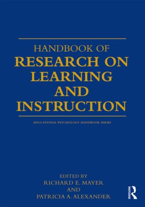 Handbook of Research on Learning and Instruction (Paperback) book cover