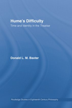 Hume's Difficulty: Time and Identity in the Treatise (Paperback) book cover