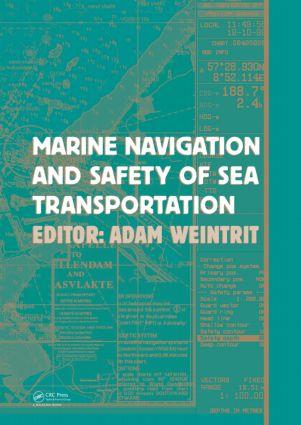 Marine Navigation and Safety of Sea Transportation: 1st Edition (Hardback) book cover