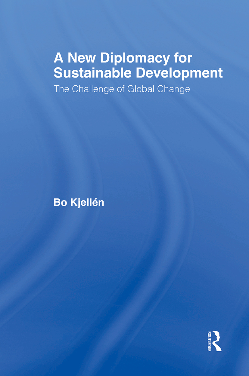 A New Diplomacy for Sustainable Development: The Challenge of Global Change book cover