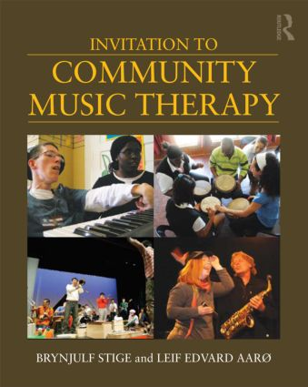 Invitation to Community Music Therapy (Paperback) book cover