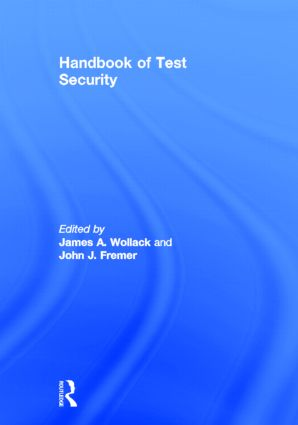 Handbook of Test Security: 1st Edition (Hardback) book cover