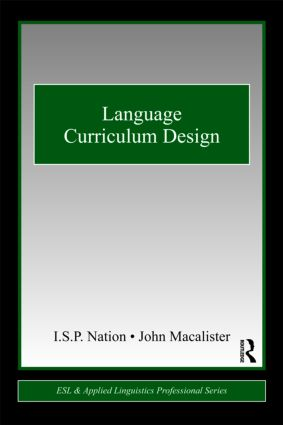 Language Curriculum Design book cover