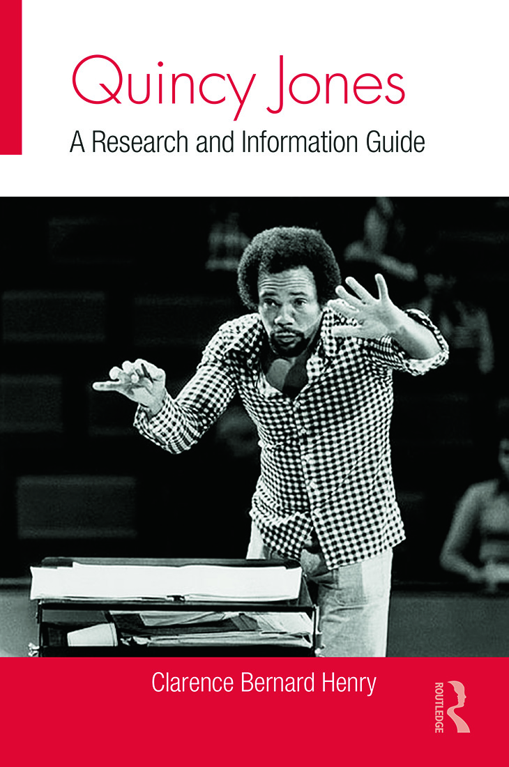 Quincy Jones: A Research and Information Guide book cover