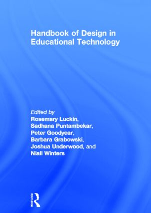 Handbook of Design in Educational Technology (Hardback) book cover