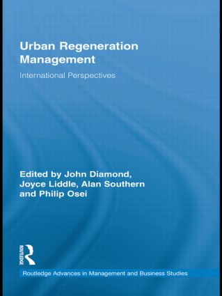 Urban Regeneration Management: International Perspectives (Paperback) book cover