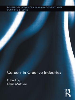 Careers in Creative Industries book cover
