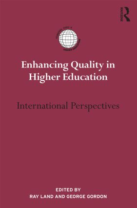 Enhancing Quality in Higher Education: International perspectives (Hardback) book cover