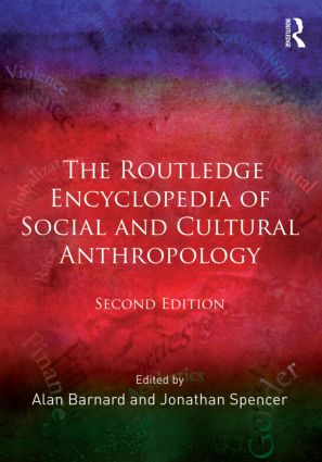 The Routledge Encyclopedia of Social and Cultural Anthropology: 2nd Edition (Paperback) book cover