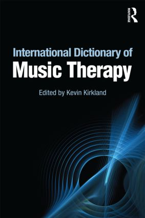 International Dictionary of Music Therapy (Paperback) book cover
