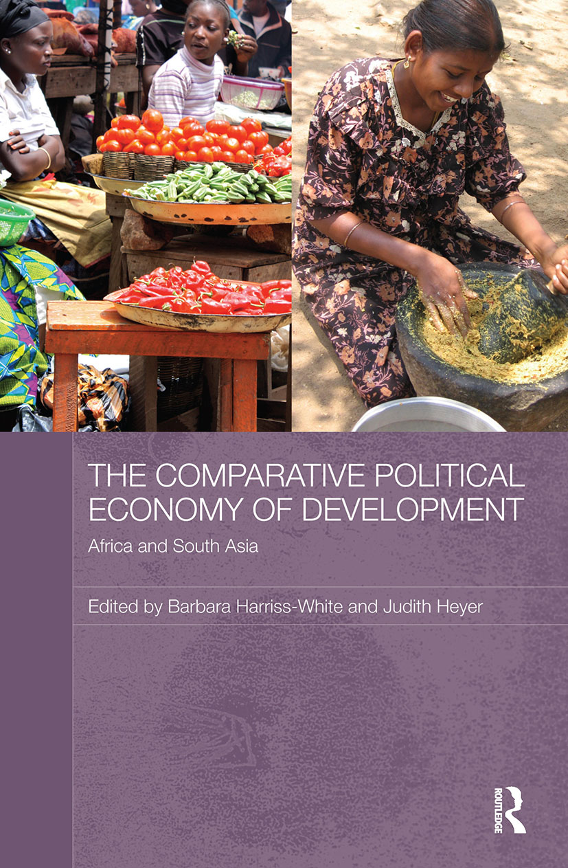 The Comparative Political Economy of Development: Africa and South Asia (Paperback) book cover