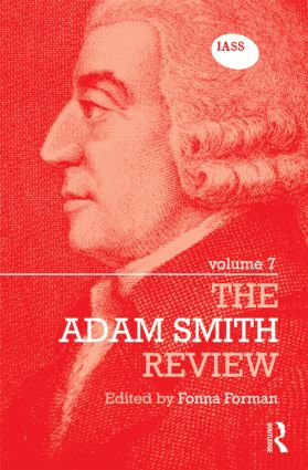 The Adam Smith Review Volume 7 (Hardback) book cover