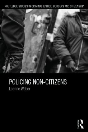 Policing Non-Citizens (Paperback) book cover