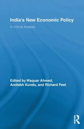 India's New Economic Policy: A Critical Analysis book cover