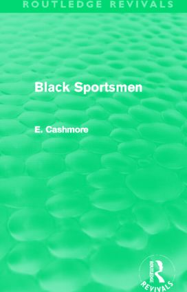 Black Sportsmen (Routledge Revivals) (Hardback) book cover