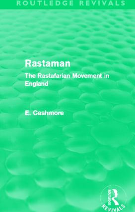 Rastaman (Routledge Revivals): The Rastafarian Movement in England (Hardback) book cover