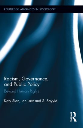 Racism, Governance, and Public Policy: Beyond Human Rights, 1st Edition (Paperback) book cover